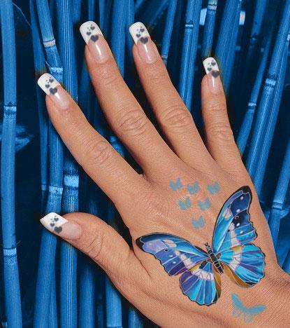 Фото дизайн ногтей цветы