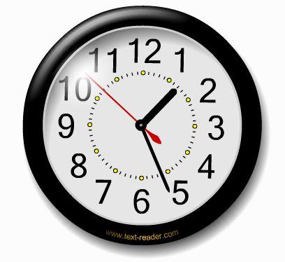 заставка на рабочий стол время часы № 190074  скачать