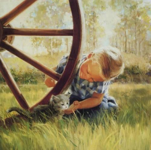 детские рисунки радуги