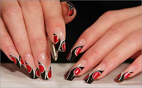Дизайн ногтей простые рисунки